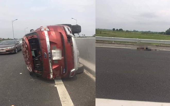 Tông vào dải phân cách cứng trên cao tốc, tài xế văng khỏi xe Ford tử vong
