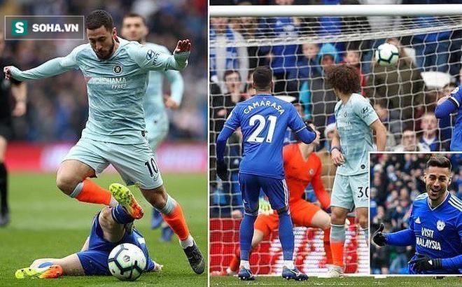 """Sau màn """"vật vã"""" với 21 cú dứt điểm, Chelsea nhận cái kết vỡ òa đúng phút 90"""