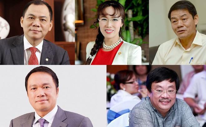 Những điểm tương đồng thú vị của 5 tỷ phú USD Việt Nam