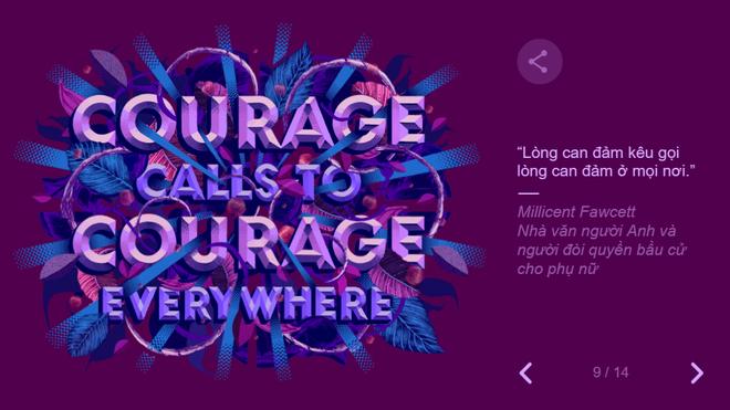 Google tôn vinh 8/3 theo cách không thể đặc biệt hơn: Thiết kế hình ảnh chưa từng có - Ảnh 11.