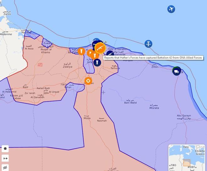 Chiến sự Libya đảo chiều nhanh chóng - Đầu não nhiều đơn vị GNA bị đánh tan hoang, tình hình nguy ngập - Ảnh 15.