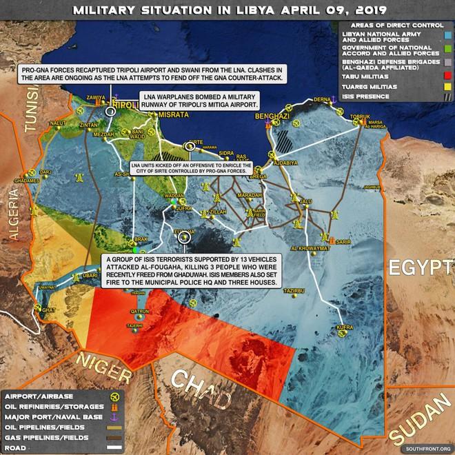 Chiến sự Libya đảo chiều nhanh chóng - Đầu não nhiều đơn vị GNA bị đánh tan hoang, tình hình nguy ngập - Ảnh 11.