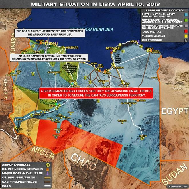 Chiến sự Libya đảo chiều nhanh chóng - Đầu não nhiều đơn vị GNA bị đánh tan hoang, tình hình nguy ngập - Ảnh 3.