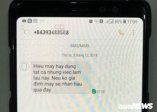 Quảng Ngãi: Điều chuyển công tác Phó Bí thư huyện bị nhắn tin đe dọa - Ảnh 1.