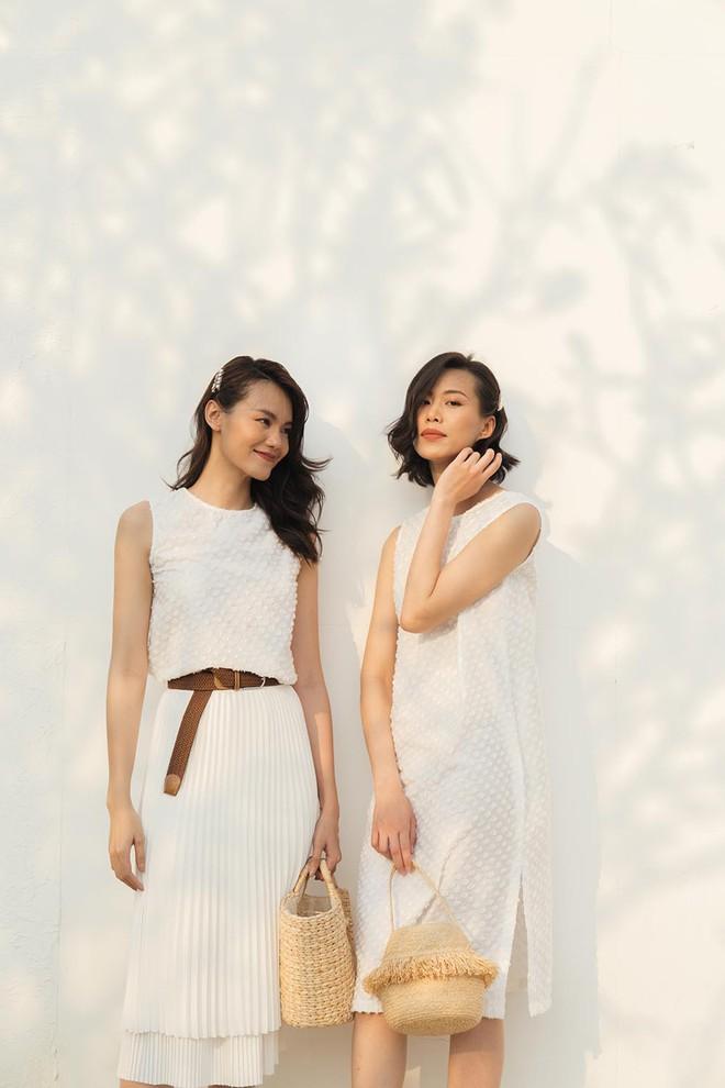 Cặp chân dài Vietnams Next Top Model cùng khoe gu ăn vận tinh tế - Ảnh 5.