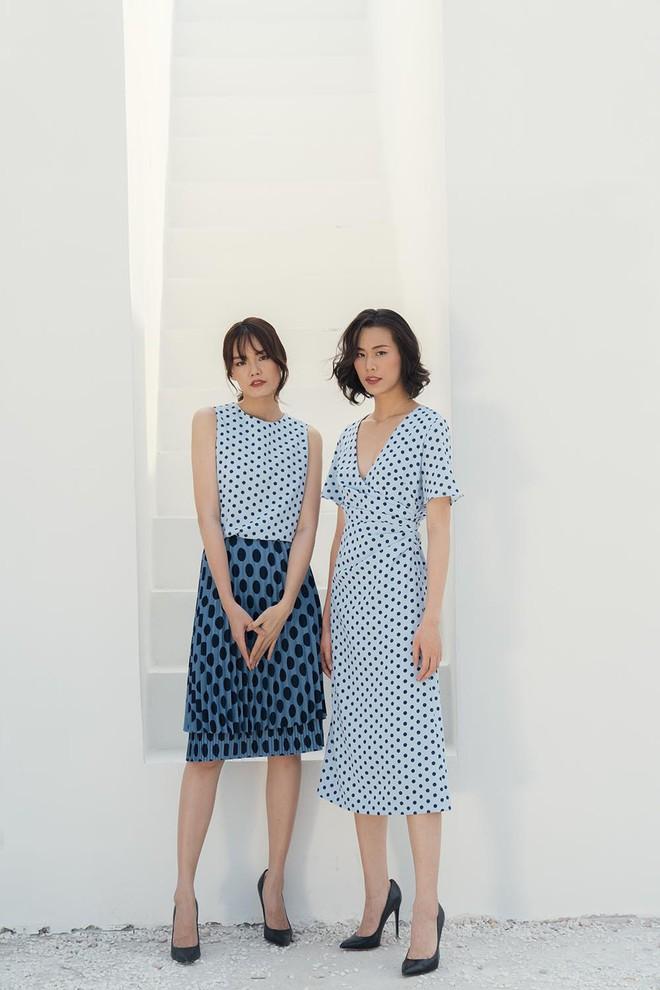 Cặp chân dài Vietnams Next Top Model cùng khoe gu ăn vận tinh tế - Ảnh 4.