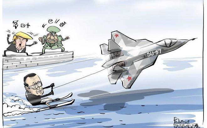 """Mua Su-57 Nga: """"Cái đinh cuối cùng đóng lên nắp quan tài"""" dành cho Mỹ-Thổ"""