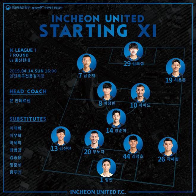 Incheon United 0-3 Ulsan Hyundai: Công Phượng không thể giúp đội nhà thoát thua - Ảnh 2.