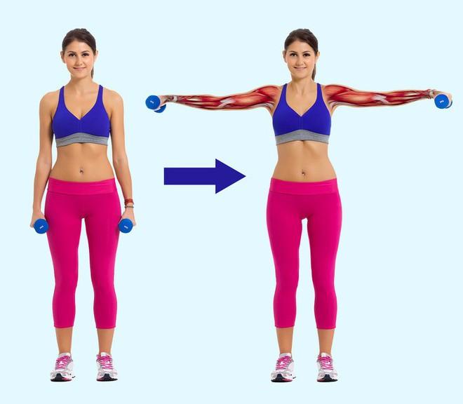 6 bài tập thay đổi cơ thể hoàn toàn sau 30 ngày: Ai tập được sẽ săn chắc từ đầu đến chân - Ảnh 7.