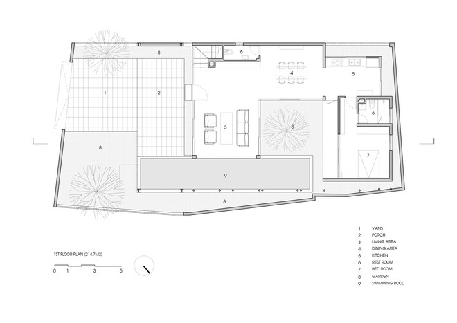 Độc đáo căn nhà ở Huế có thể nhìn xuyên thấu tất cả các phòng - Ảnh 12.