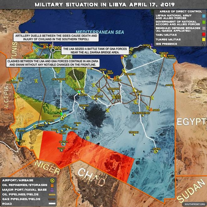 Đặc sứ LHQ tại Libya tuyên bố Tripoli đã trải qua 1 đêm kinh hoàng - Ảnh 1.