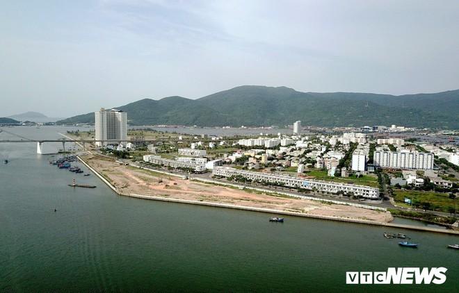 Toàn cảnh dự án lấn cửa sông Hàn Đà Nẵng để phân lô bán nền  - Ảnh 1.
