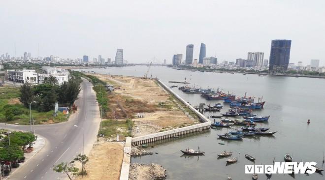 Toàn cảnh dự án lấn cửa sông Hàn Đà Nẵng để phân lô bán nền  - Ảnh 4.