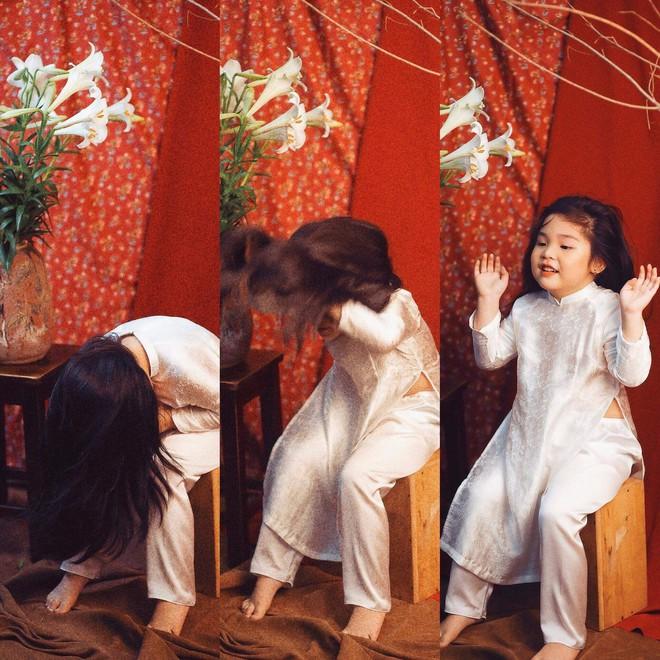 Đưa con gái đi chụp hình theo bức tranh nổi tiếng, mẹ khóc dở mếu dở khi nhìn sản phẩm - Ảnh 4.