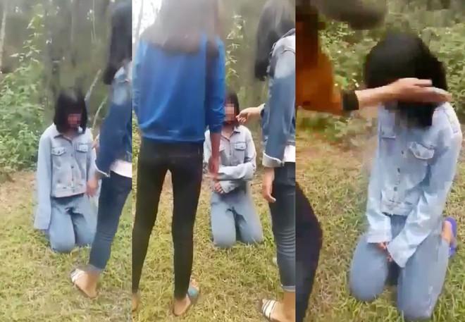 Vụ nhóm nữ sinh bắt bạn quỳ trong rừng rồi đánh: Người chủ mưu là học sinh giỏi - Ảnh 2.