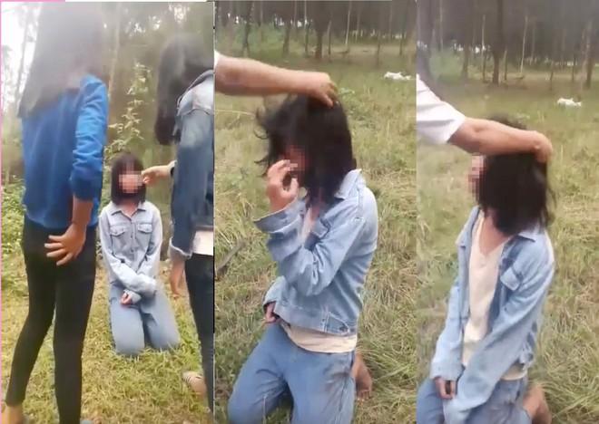 Vụ nhóm nữ sinh bắt bạn quỳ rồi đánh: Sở họp nóng, Công an lấy lời khai các nữ sinh - Ảnh 2.