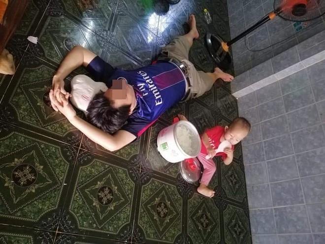 Nhờ chồng trông con, vợ vừa về nhà đã muốn bốc hỏa khi trông thấy cảnh lạ đời - Ảnh 4.