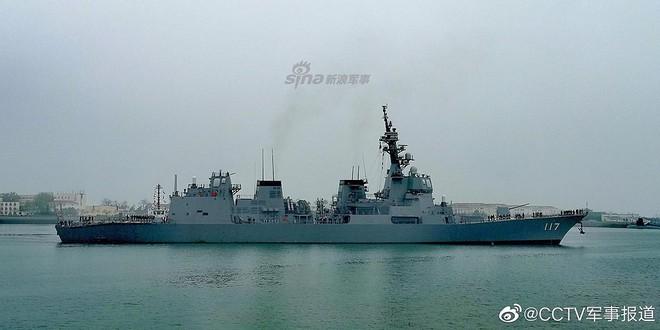 [ẢNH] Gepard 3.9 Việt Nam sánh vai cùng dàn chiến hạm hiện đại tại Trung Quốc - Ảnh 10.