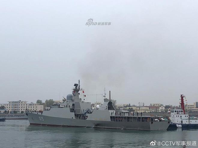 [ẢNH] Gepard 3.9 Việt Nam sánh vai cùng dàn chiến hạm hiện đại tại Trung Quốc - Ảnh 2.