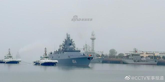 [ẢNH] Gepard 3.9 Việt Nam sánh vai cùng dàn chiến hạm hiện đại tại Trung Quốc - Ảnh 4.