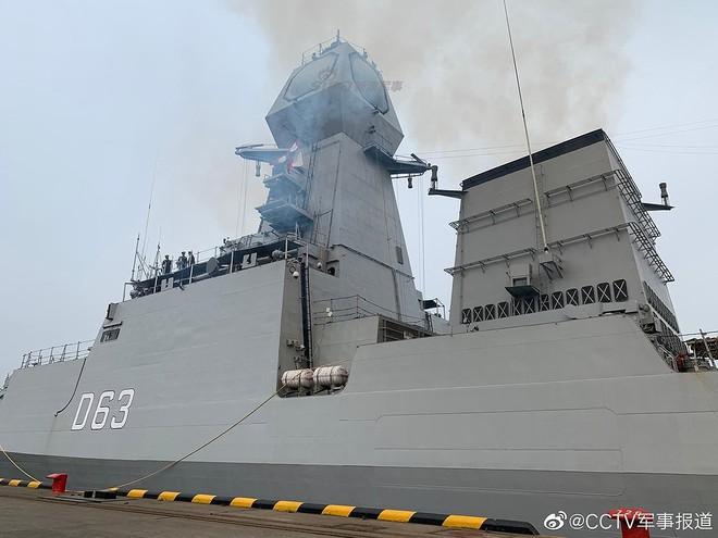 [ẢNH] Gepard 3.9 Việt Nam sánh vai cùng dàn chiến hạm hiện đại tại Trung Quốc - Ảnh 6.