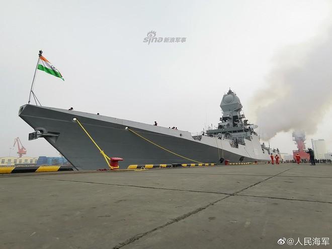 [ẢNH] Gepard 3.9 Việt Nam sánh vai cùng dàn chiến hạm hiện đại tại Trung Quốc - Ảnh 7.