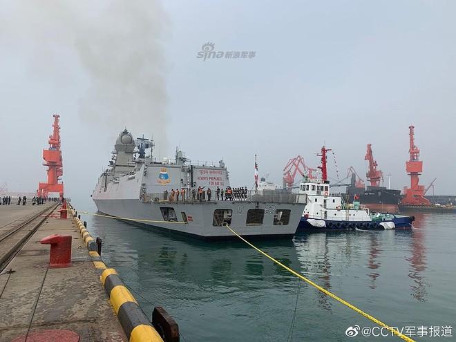 [ẢNH] Gepard 3.9 Việt Nam sánh vai cùng dàn chiến hạm hiện đại tại Trung Quốc - Ảnh 8.