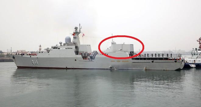 Tàu hộ vệ tên lửa Gepard của HQNDVN đã được nâng cấp: Một cải tiến hết sức đặc biệt - ảnh 1