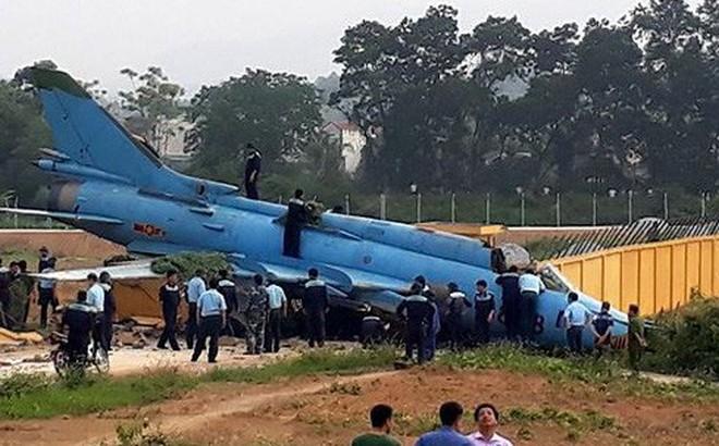 Ảnh hiện trường vụ máy bay Su-22 gặp nạn ở Yên Bái