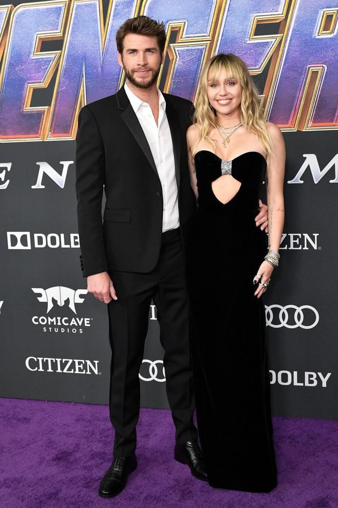 Siêu thảm tím Avengers: Endgame hot nhất 2019: Dàn sao Marvel sang chảnh, vợ chồng Miley Cyrus chiếm trọn spotlight - Ảnh 11.