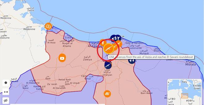 CẬP NHẬT: Chiến sự Libya gay cấn - Tiêm kích Mirage bị bắn hạ, máy bay quân sự Pháp và NATO bất ngờ xuất hiện - Ảnh 2.