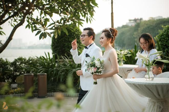 Toàn cảnh đám cưới ở Hà Nội của Giám đốc Nhà hát Kịch Hà Nội và hot girl 9X - Ảnh 4.