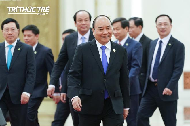 Thủ tướng hội kiến Tổng bí thư, Chủ tịch nước Trung Quốc Tập Cận Bình - Ảnh 1.