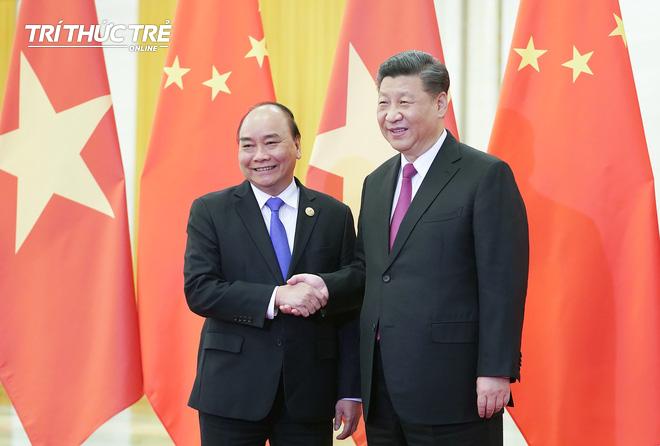 Thủ tướng hội kiến Tổng bí thư, Chủ tịch nước Trung Quốc Tập Cận Bình - Ảnh 3.