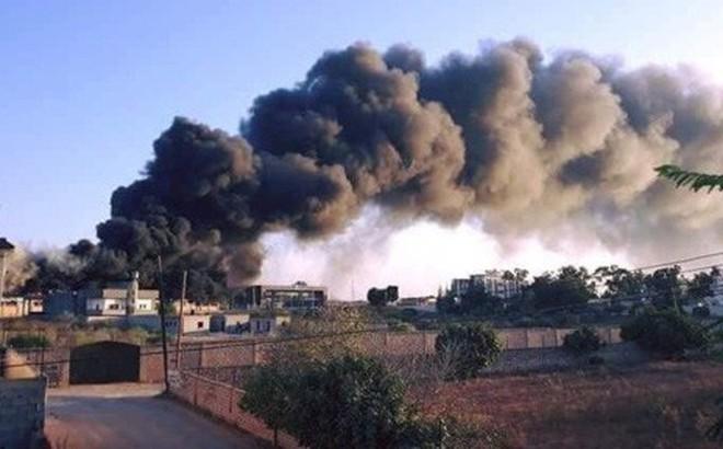 Thủ đô Tripoli (Libya) biến thành bãi chiến trường