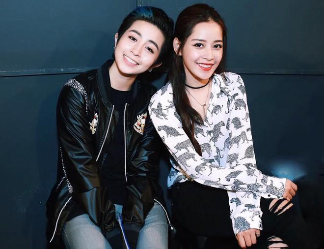 Chi Pu lên tiếng về nghi vấn yêu đồng giới với siêu mẫu Thanh Hằng - Ảnh 1.
