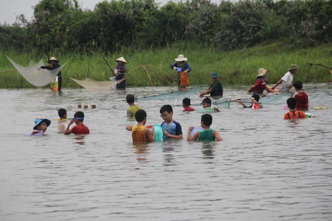 Cả làng ào xuống đầm Vực bắt cá sau những tiếng hú vang - Ảnh 2.