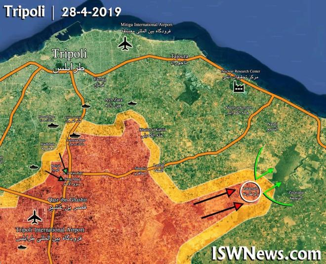 Lò lửa Libya nóng rực - Nhiều máy bay lạ tham chiến - Ảnh 5.
