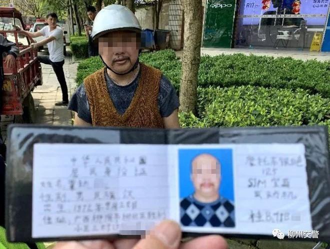 Tiếc tiền thi bằng lái, người đàn ông tự làm bằng như trò hề để qua mặt cảnh sát - Ảnh 2.