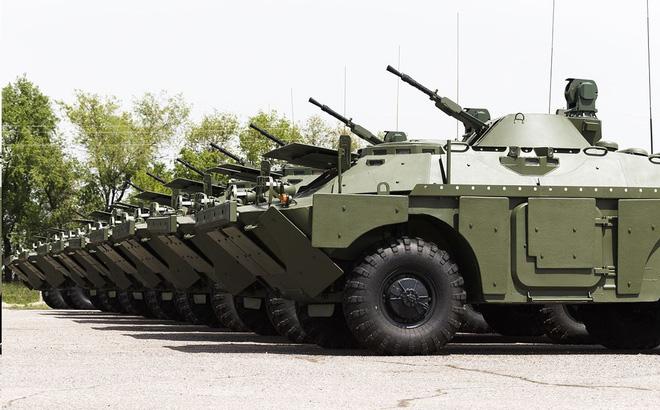 """Nga """"tặng không"""" xe thiết giáp nâng cấp cho quốc gia láng giềng"""