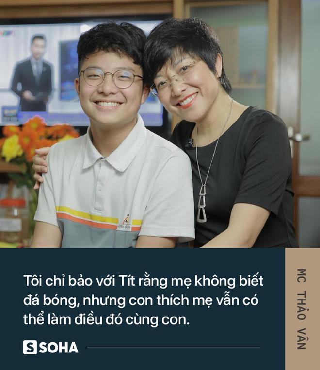 MC Thảo Vân: Bố của con mình giờ đã có người khác chăm sóc. Anh ấy hạnh phúc, con mình sẽ hạnh phúc - Ảnh 9.