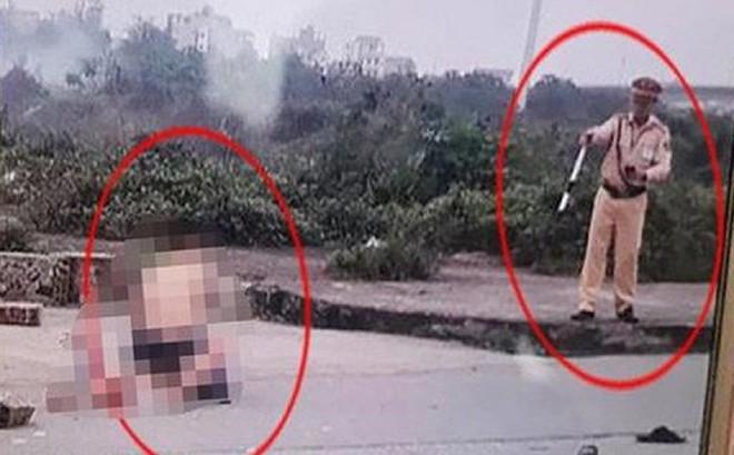 CA Ninh Bình nêu danh tính và thông tin về việc trung tá CSGT đứng nhìn thanh niên đâm cô gái