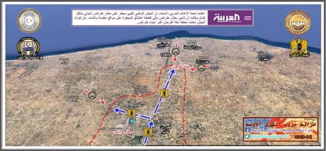 Lò lửa Libya chính thức bùng nổ - Chiến tranh lan rộng khắp, LHQ sơ tán khẩn cấp - Ảnh 22.