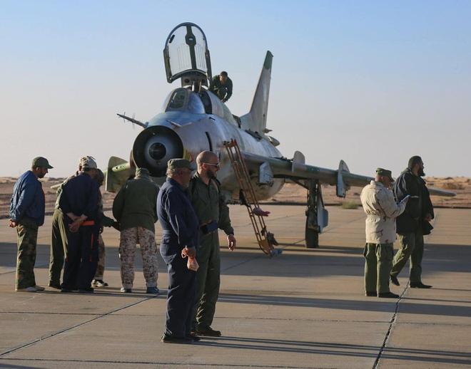 Chiến tranh lan rộng ở Libya: MiG-23 và Su-22 của LNA liên tục xuất kích - ảnh 1