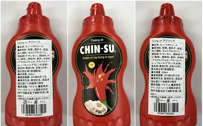 18.000 chai tương ớt Chin-su bị thu hồi: Vì sao Nhật cấm, Việt Nam lại cho phép dùng?