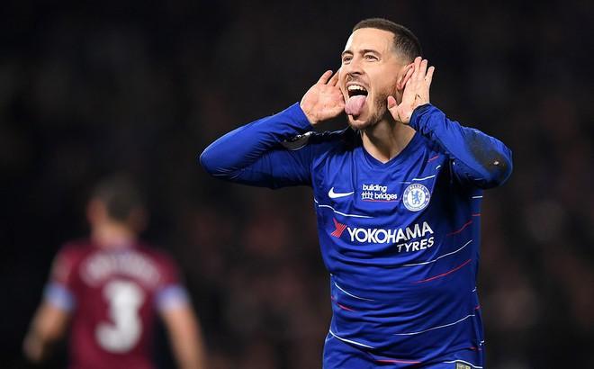 Hazard lập cú đúp, Chelsea bỏ cách Man United trong cuộc đua top 4