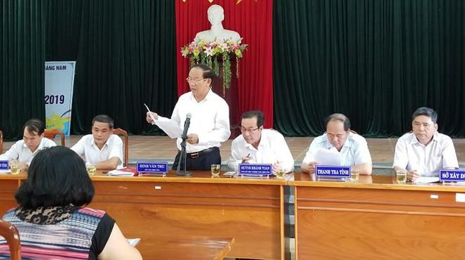 Hàng trăm người mua đất kéo đến trụ sở UBND tỉnh Quảng Nam cầu cứu - Ảnh 2.