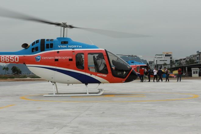 Trải nghiệm bay trực thăng ngắm cảnh vịnh Hạ Long trên không giá 3 triệu đồng/người - Ảnh 5.