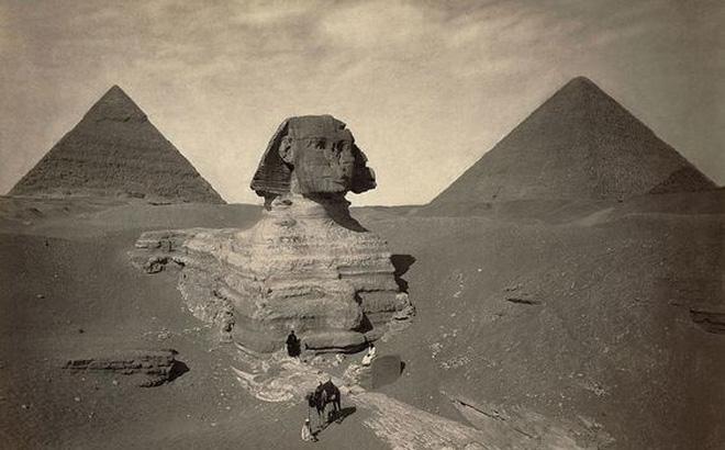 Giả thuyết mới: Địa kim tự tháp Giza và tượng Nhân sư từng chìm sâu dưới nước?