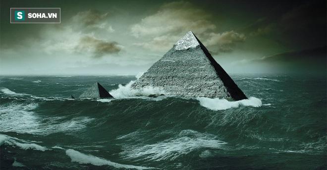 Giả thuyết mới: Địa kim tự tháp Giza và tượng Nhân sư từng chìm sâu dưới nước? - Ảnh 1.